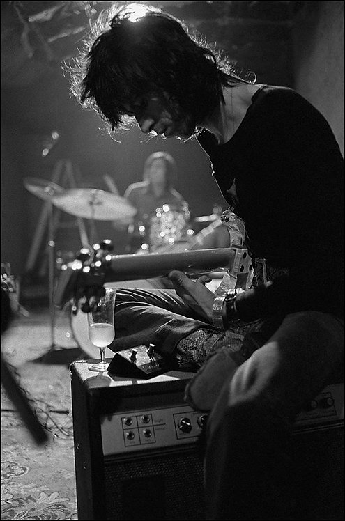 Keith Richards, The Rolling Stones, Laurel Canyon, CA, 1969