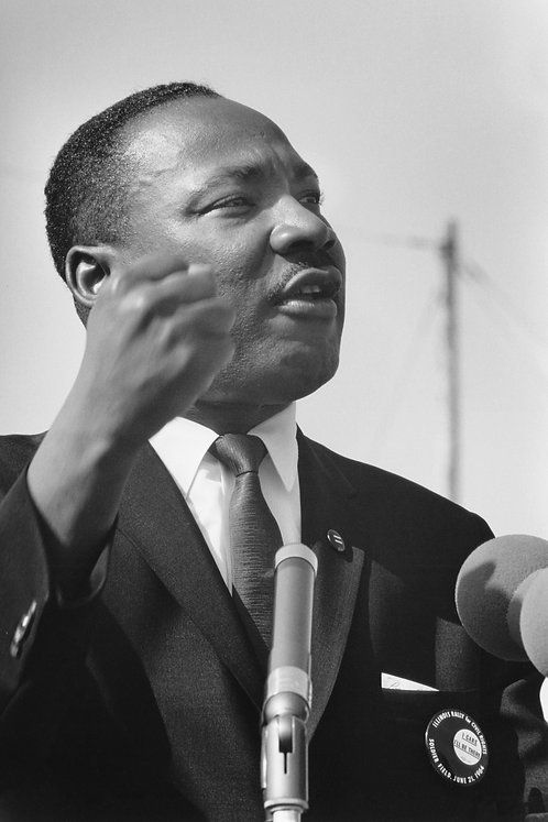 Dr. Martin Luther King Jr., Chicago, IL, June 21, 1964
