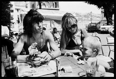 Keith Richards and Anita Pallenberg, 1971