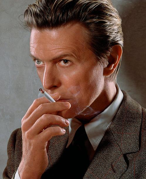 David Bowie, NYC, 2002
