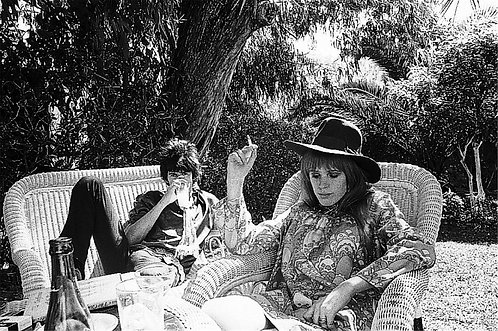 Keith Richards & Marianne Faithfull, 1967