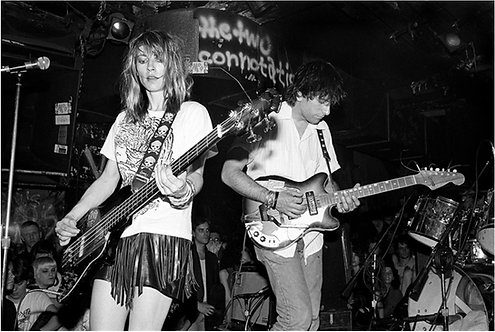 Sonic Youth, CBGB, NYC, 1986