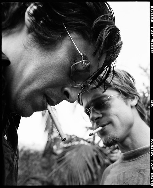 Brad Pitt & Benicio Del Toro