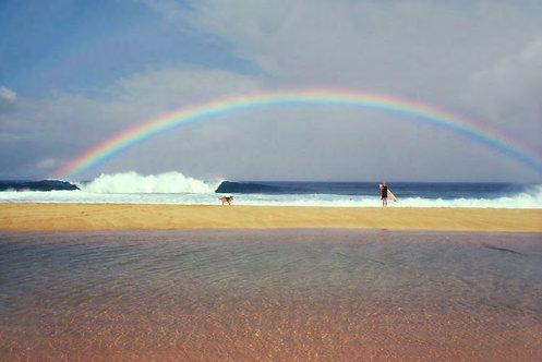 Rainbow, Pipeline, North Shore, Oahu, 1979