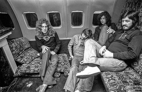 Led Zeppelin Aboard Starship 2