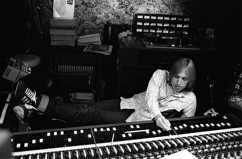 Tom Petty in Studio