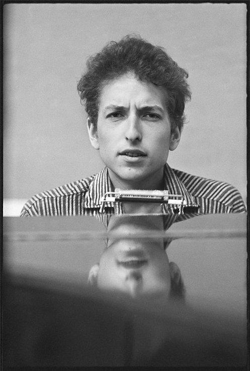 Bob Dylan at the Piano, New York City, 1963