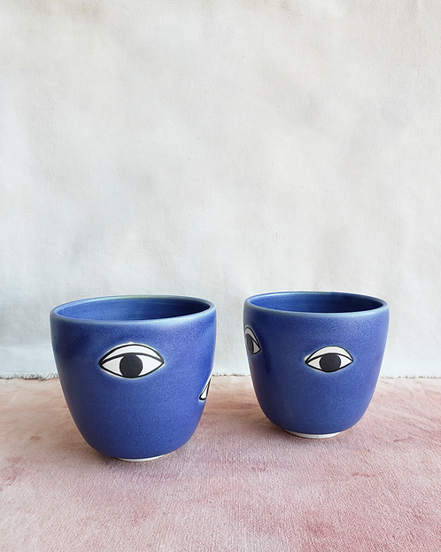 Many Eyes Cup - Lapis
