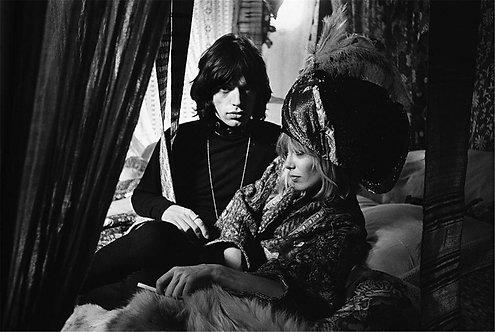 Mick Jagger & Anita Pallenberg