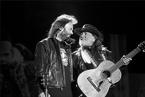 Neil Young and Willie Nelson, Farm Aid