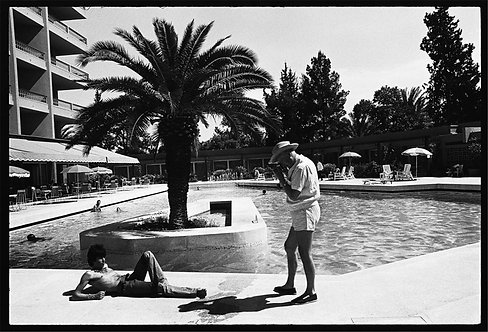 Keith Richards & Cecil Beaton in Morocco,1967