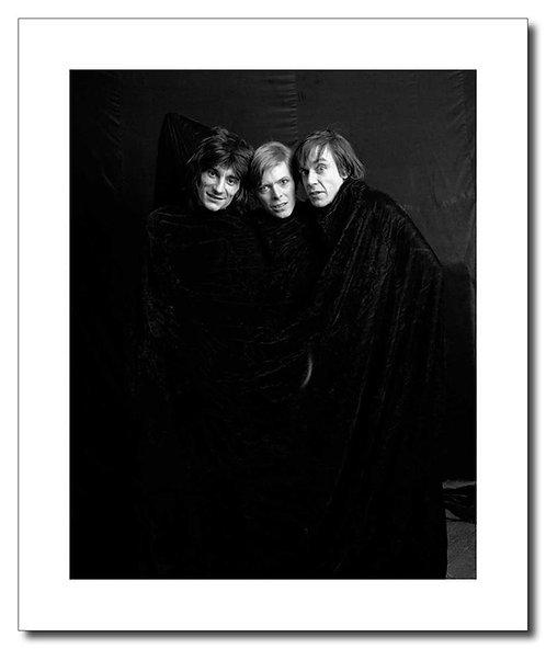 Ronnie Wood, David Bowie, Iggy Pop
