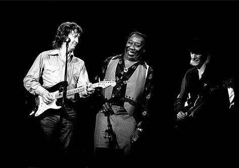 Eric Clapton, Muddy Waters, Johnny Winters