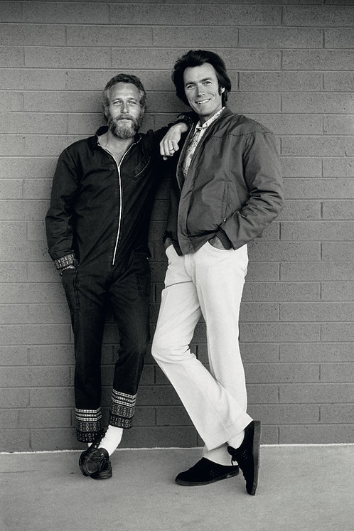 Paul Newman & Clint Eastwood, Tucson, AZ, 1972