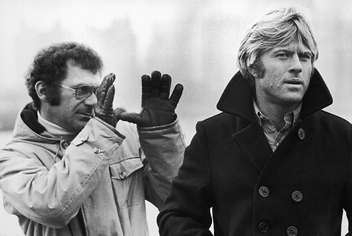 Robert Redford & Sydney Pollack, NYC, 1975