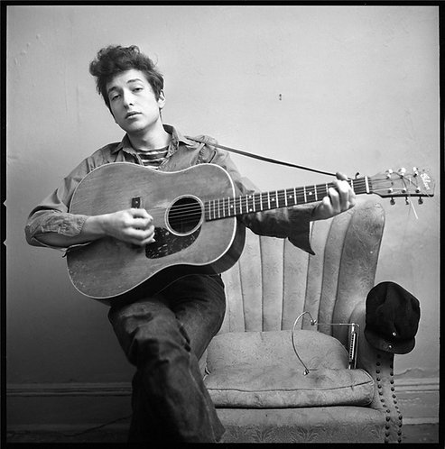 Bob Dylan, New York City 1963