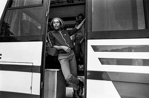 Bob Marley, tour bus