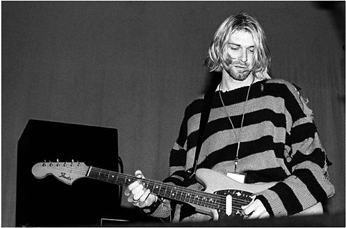 Kurt Cobain, Nirvana, Roseland, NYC, 1993