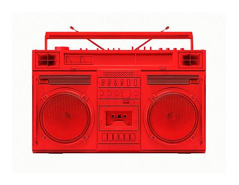 Red Boombox