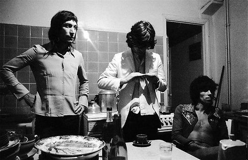 Charlie Watts, Mick Jagger, & Keith Richards