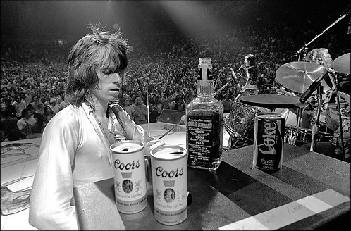 Keith Richards, The Rolling Stones, 1972
