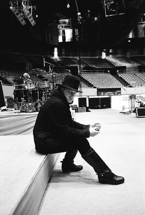 Bono, U2, Los Angeles, CA, 1985