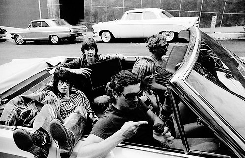 Keith Richards, Anita Pallenberg, Gram Parsons