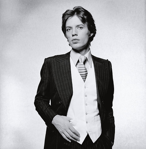 Mick Jagger, London, 1976