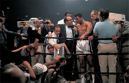Muhammad Ali with Media