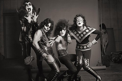 Kiss, Los Angeles, CA, 1975