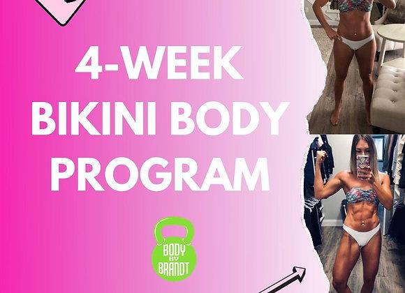 4 Week Bikini Body Program