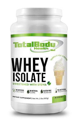 100% Whey Isolate -Vanilla