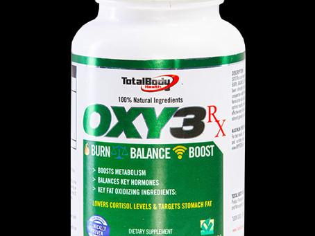 Oxy3Rx Ingredient breakdown