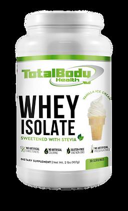 100% WHEY ISOLATE-Vanilla