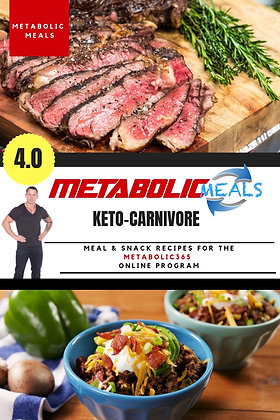 Metabolic Meals #4 Recipe Book