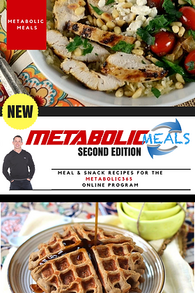 METABOLIC MEALS #2 Recipe Book