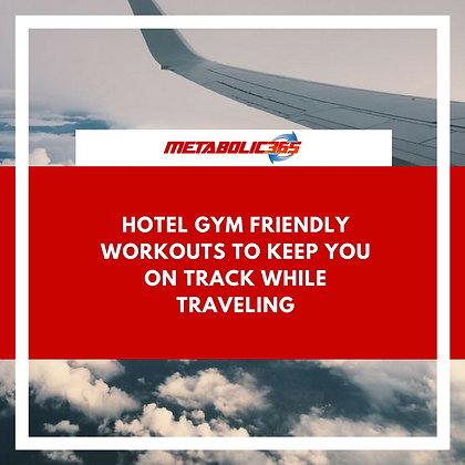 Metabolic365 Hotel Workout