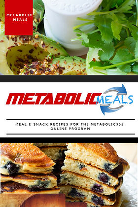 Metabolic Meals #1 Recipe Book