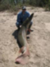 Mounted fishing reel
