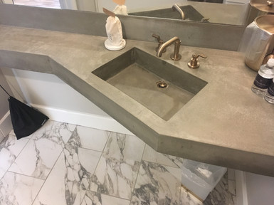 Angled Guest Room Sink
