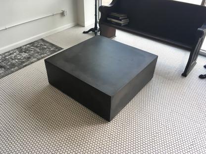 Monotithic Concrete Coffee Table