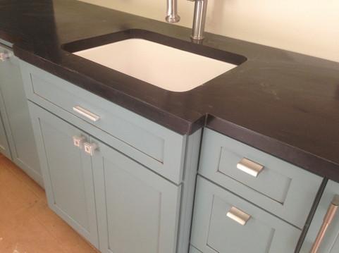 Pool House Kitchenette Sink