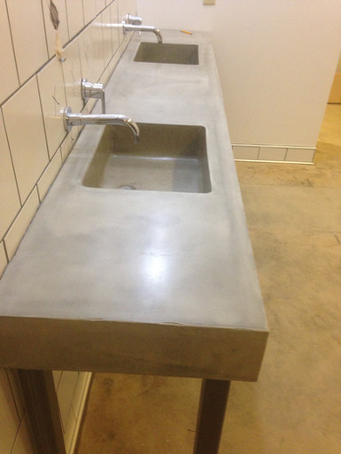 Double Washroom Sinks