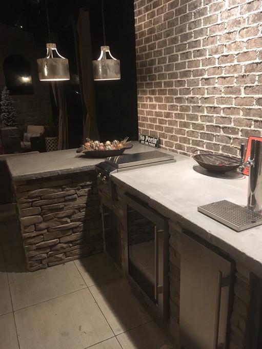 Lake House Outdoor Kitchen