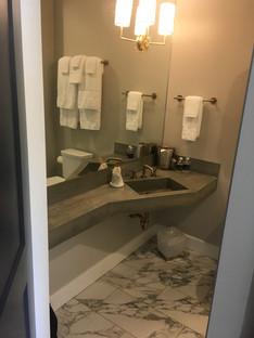 Angle Room Sink