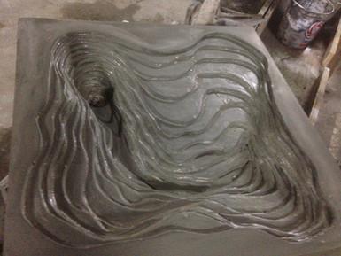 Teraced Sink