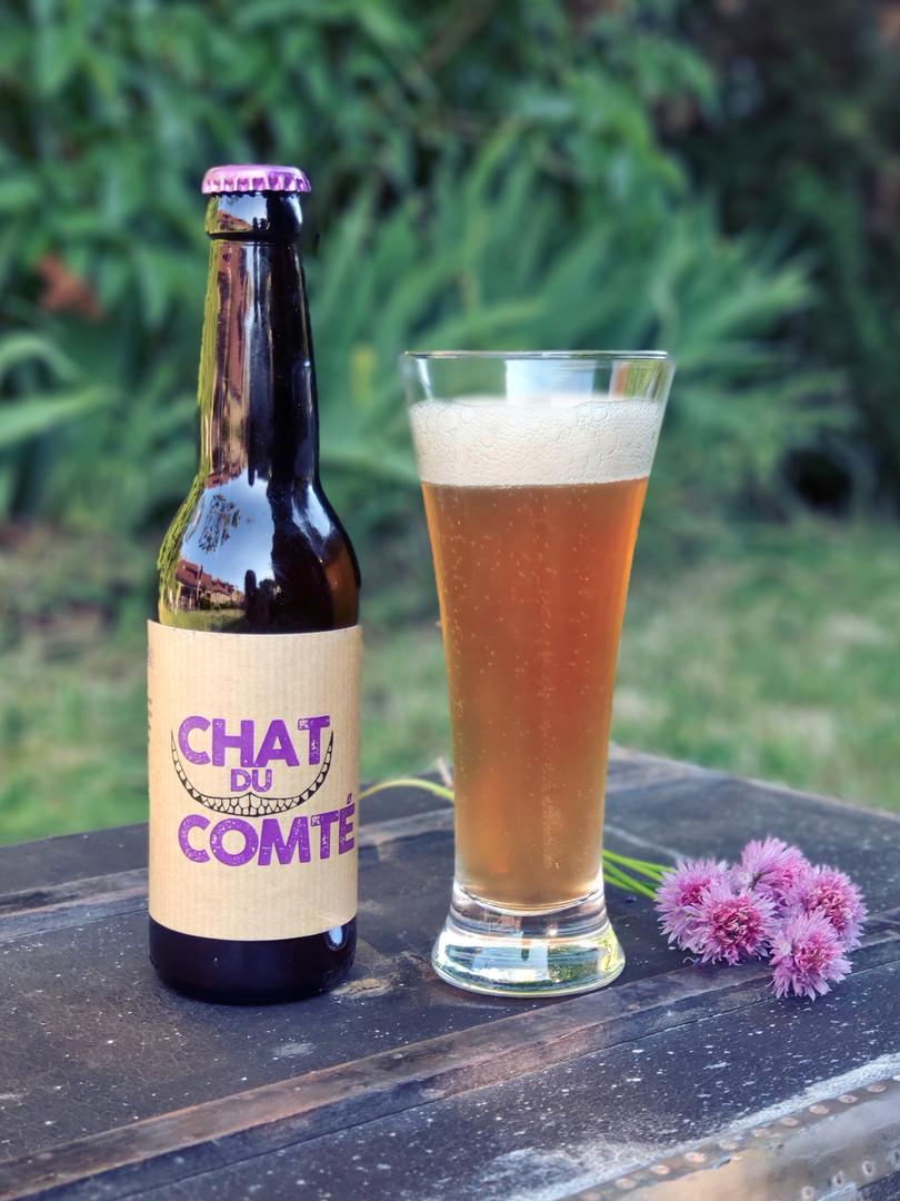 Chat du Comté - Pale Ale  *NOUVELLE RECETTE*