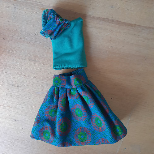 Funky one arm with skirt