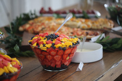 beehive catering fruit bowl