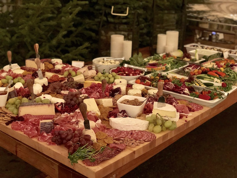 charcuterie tables